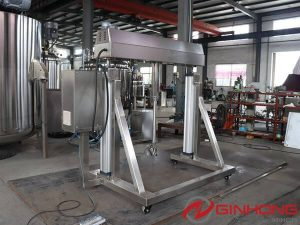 JX-4kw IBC Tank Mixer and YX-5000L Open Mixing Vessel Sent to Singapore